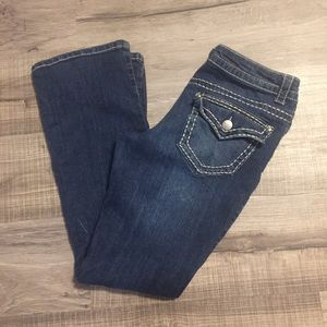 Paisley Sky Bootcut Jeans. Size 10